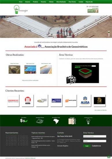 Sitema Web Inovageo