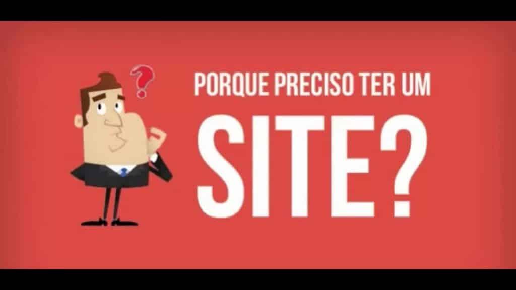Preciso de um site?