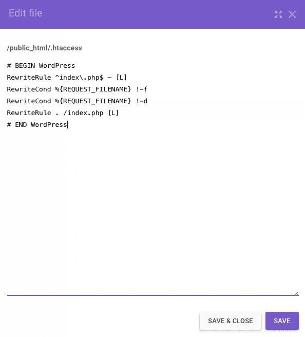 Como configurar o .htaccess corretamente?