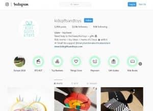 Promoção de negócios no Instagram