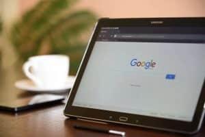 Primeiras páginas do Google